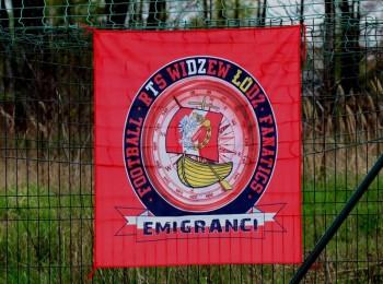 Flaga Widzewska Emigracja