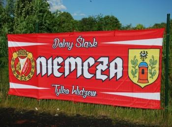 Flaga Niemcza - Widzew Łódź
